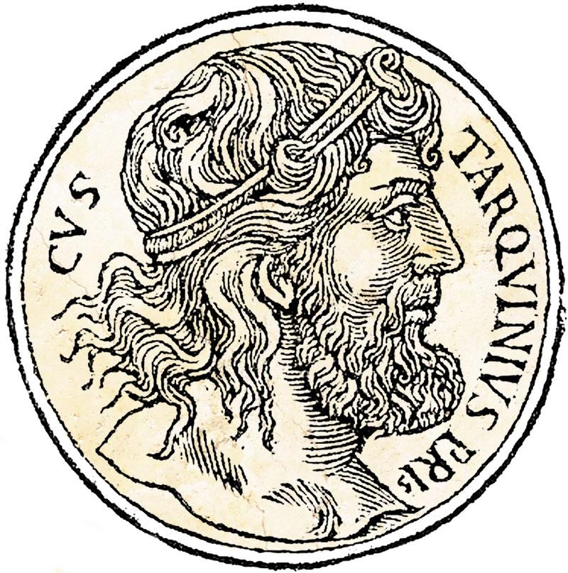 Medallion of Lucius Tarquinius Priscus
