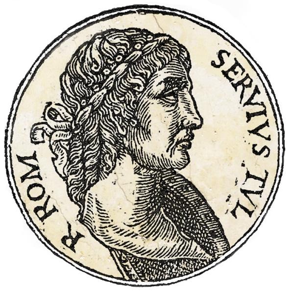 Servius Tullius by Guillaume Rouillé