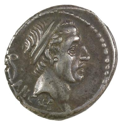 Silver Denarius Memorializing Ancus Marcius