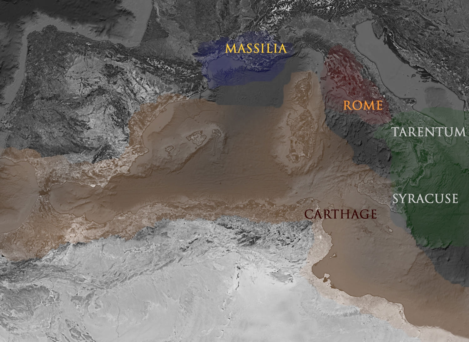 Exclusive Trading Zones and Spheres of Influence