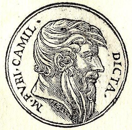 Portrait of Marcus Furius Camillus