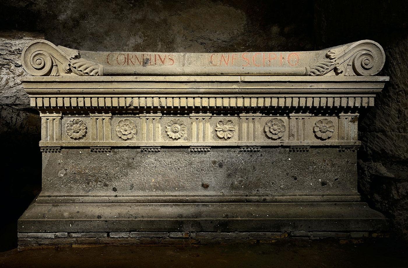 Sarcophagus of Cornelius Lucius Scipio Barbatus
