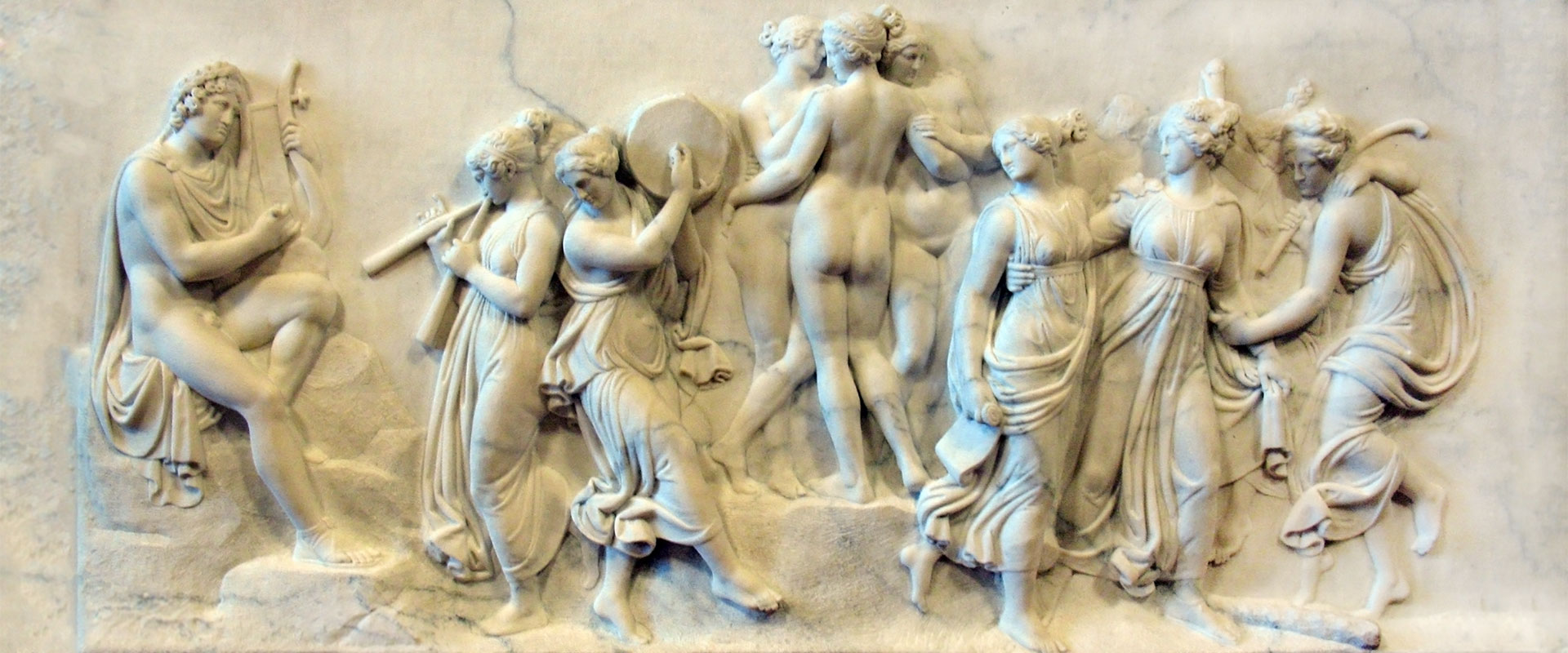 The Dance of the Muses at Mount Helicon