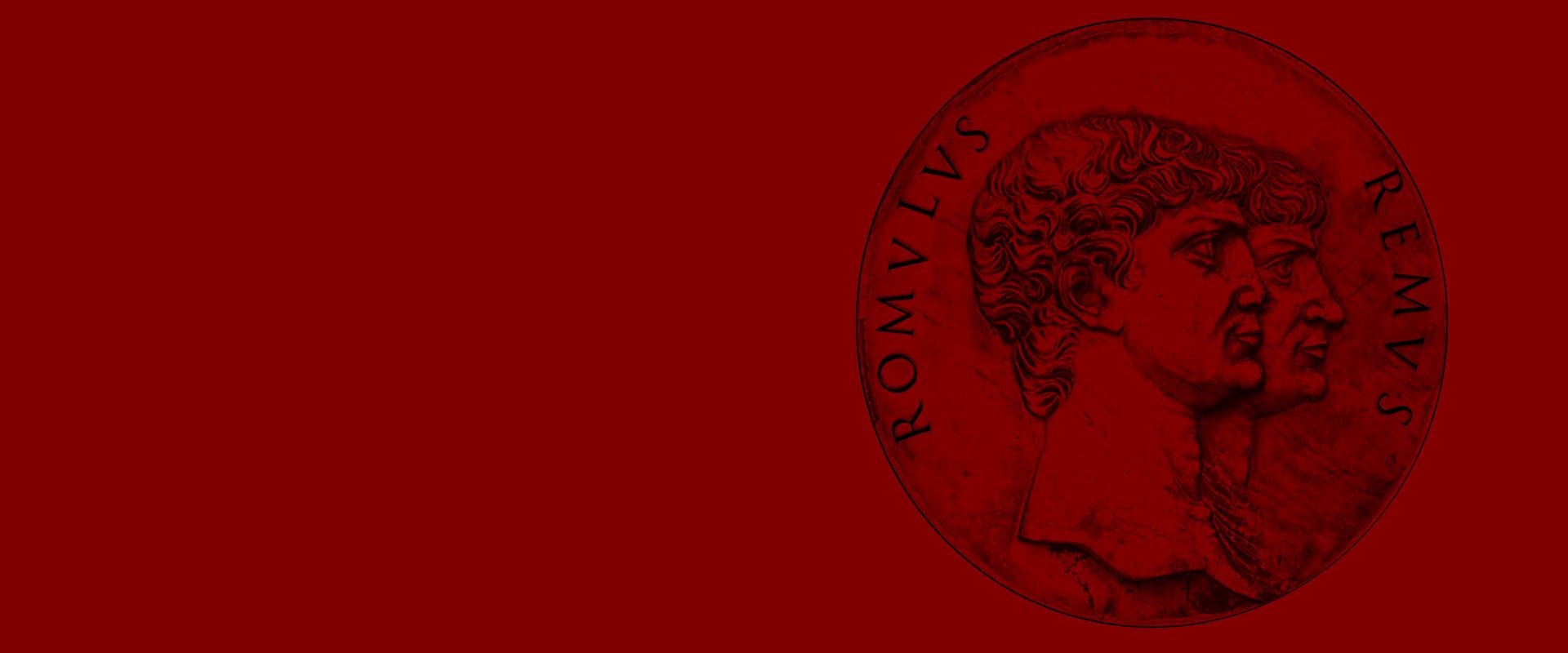 Romulus Remus medallion